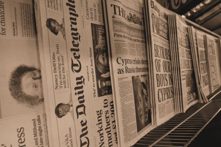 The Future of Print Journalism – our roving reporter attends the latest Media Society debate